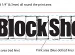Measuring a block